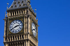 The Clock-Face of Big Ben in London Stock Photography