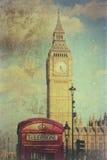 Clock face of Big Ben Stock Photo
