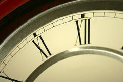 Clock Face (closeup). A closeup view of a clock Royalty Free Stock Image