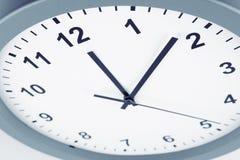 Clock face detail. Closeup of hands on clock face Stock Images