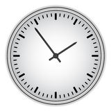 Clock face - easy change time Royalty Free Stock Photo