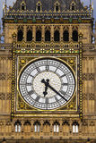 Clock Face on the Elizabeth Tower Royalty Free Stock Photography