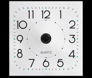 Clock face without hands. Clock with hands removed (literally, not with PS). You can add your own hands to point to whatever time Stock Photos