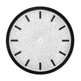 Clock face without hands royalty free stock photos
