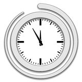 Clock face icon Royalty Free Stock Photography