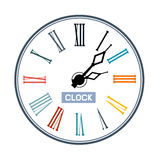 Clock Face Illustration Stock Image
