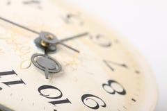 Clock face, macro Stock Image