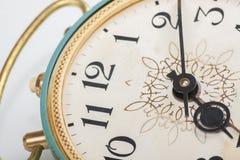 Clock face, macro Stock Photos