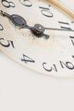 Clock face, macro Royalty Free Stock Photography