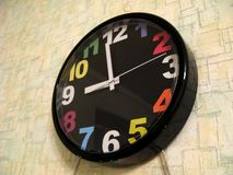 Clock face. Photo taken by me. High quality royalty free stock image