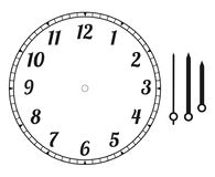 Free Clock Face Round Stock Photography - 111957502