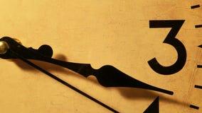 Clock Face Ticking stock footage