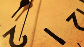 Clock Face Ticking stock video