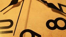 Clock Face Ticking stock video footage