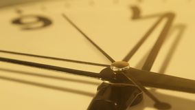 Clock Face Ticking stock footage
