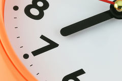 Clock face in time concept. Clock face in time concept,macro image Stock Photo