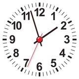Clock face. Vector illustration Stock Photo