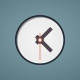 Clock face. Vector. Set up your time. Royalty Free Stock Image