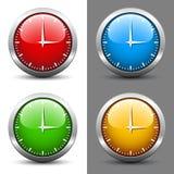 Clock faces Stock Image
