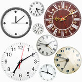 Clock faces Stock Photography