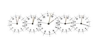 Clock Faces Stock Photo