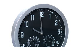 Clock Fast Time Lapse Accelerated 01 stock footage