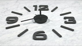 Clock Fast Time Lapse Moving Forward 4k stock footage