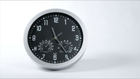 Clock Fast Time Lapse 02. Clock ticking accelerated time. High Speed countdown timer. Time flies moving fast forward in this time lapse. Clock face running out stock footage