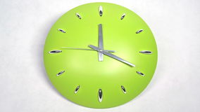 Clock Fast Time Moving Forward High Speed stock footage