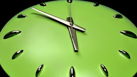 Clock Fast Time Zoomed Moving Forward High Speed vector illustration