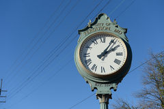 Clock in Ferguson Royalty Free Stock Image