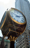 The Clock on Fifth Avenue at the Trump Tower Royalty Free Stock Photos