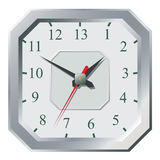 Clock flat icon. World time concept. Royalty Free Stock Image