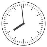 Clock flat icon. World time concept. Stock Photos