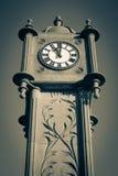 Clock in Fleetwood, Lancashire, uk Royalty Free Stock Photos
