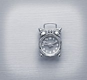 Clock in focus Royalty Free Stock Images