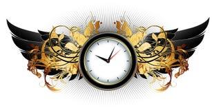 Clock frame Stock Photo