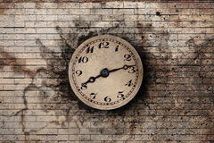 clock gammalt Arkivbild