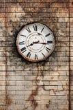 clock gammalt Royaltyfri Foto