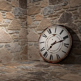 clock gammalt Royaltyfri Bild