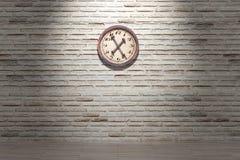 clock gammalt Arkivbilder
