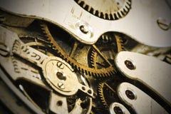 Clock gear stock image