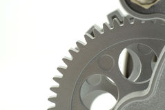 Clock gear Royalty Free Stock Image