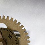 Clock Gear Detail Royalty Free Stock Photo
