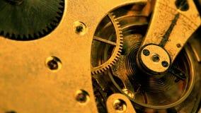 Clock gear stock footage