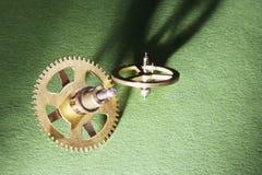 Clock Gear Wheels Stock Image