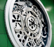 Clock and gears Royalty Free Stock Photos