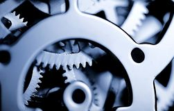 Clock Gears Royalty Free Stock Images