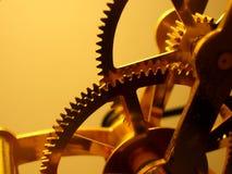 Clock Gears. Close up of clock gears stock photos
