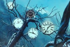 Clock gears Royalty Free Stock Image